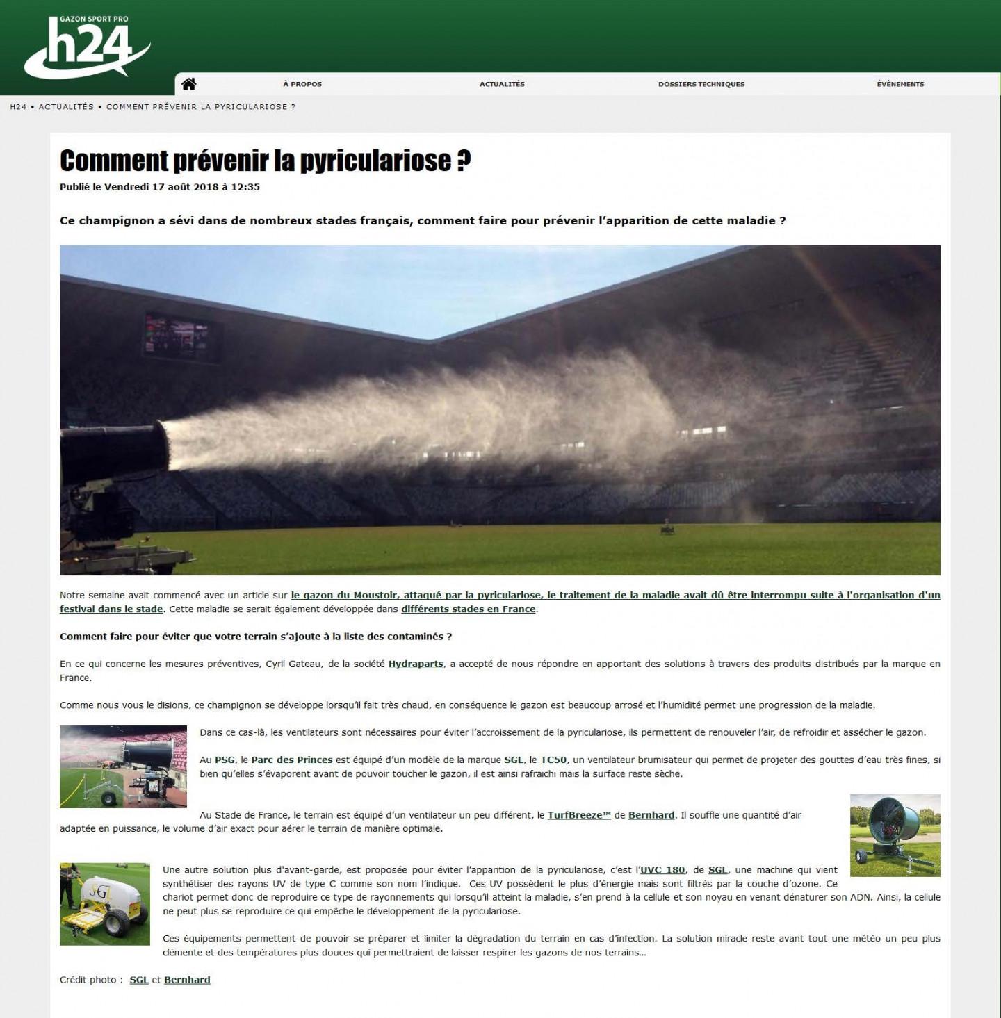 pyriculariose Gazon Sport Pro H24-thumbnail
